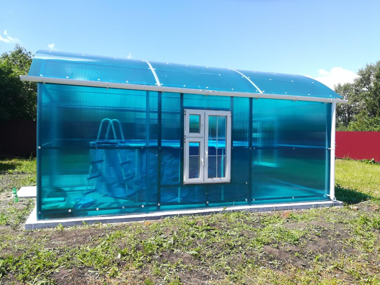 Готовый павильон из ферм 5,4 м